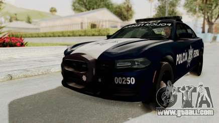 Dodge Charger RT 2016 Federal Police for GTA San Andreas