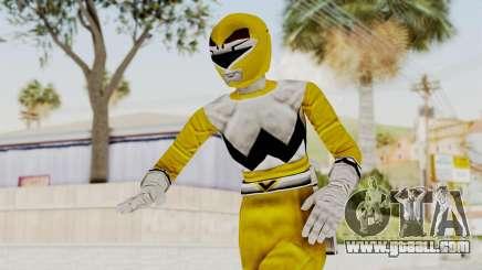 Power Rangers Lost Galaxy - Yellow for GTA San Andreas