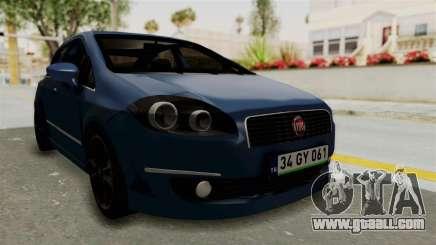 Fiat Linea 2011 for GTA San Andreas