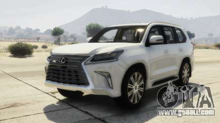 2016 Lexus LX 570 for GTA 5