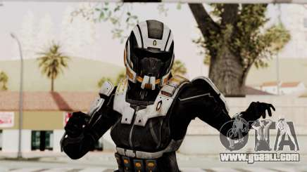 Mass Effect 3 Ajax Female Armor for GTA San Andreas