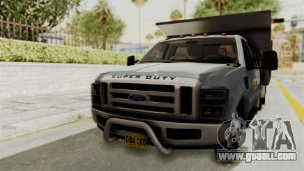 Ford F-350 Super Duty Volqueta for GTA San Andreas