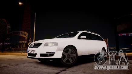 Volkswagen Passat Variant 2010 V1 for GTA 4