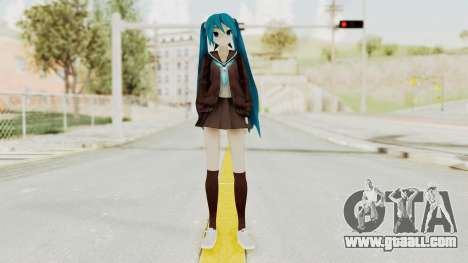 Project Diva F2nd - Hatsune Miku (Rolling Girl) for GTA San Andreas second screenshot