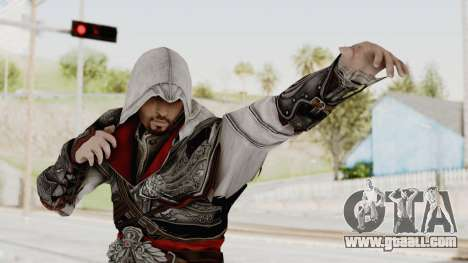 AC Brotherhood - Ezio Auditore Seusenhofer Armor for GTA San Andreas