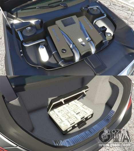 GTA 5 Mercedes-Benz S500 (W222) [michelin] v2.1 right side view