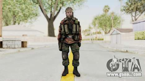 Battery Online Russian Soldier 2 for GTA San Andreas second screenshot