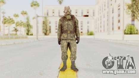 COD Black Ops Russian Spetznaz v3 for GTA San Andreas second screenshot