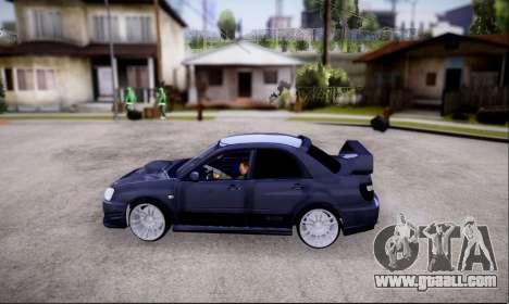Subaru impreza WRX STi LP400 v2 for GTA San Andreas right view