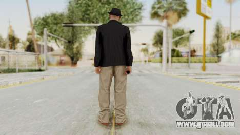 Walter White Heisenberg v1 GTA 5 Style for GTA San Andreas third screenshot