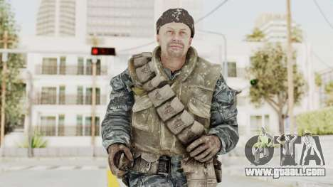 COD BO Russian Spetznas Flak MP v3 for GTA San Andreas