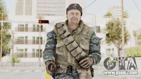COD BO Russian Spetznas Flak MP v3 for GTA San Andreas
