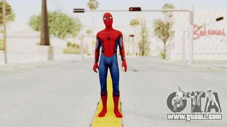 Marvel Heroes - Spider-Man (Civil War) for GTA San Andreas second screenshot
