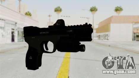 Killzone - M4 Semi-Automatic Pistol for GTA San Andreas