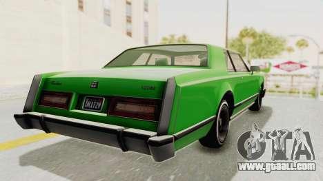 GTA 5 Dundreary Virgo Classic Custom v1 for GTA San Andreas left view
