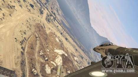 GTA 5 F-16C Block 52 sixth screenshot