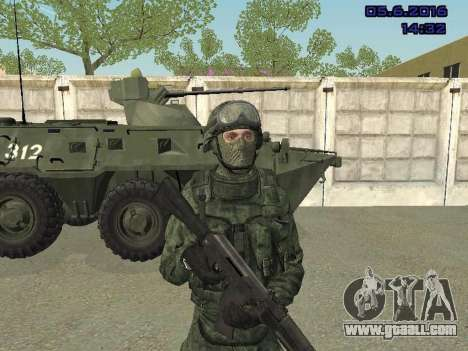 Modern Russian Soldiers pack for GTA San Andreas forth screenshot
