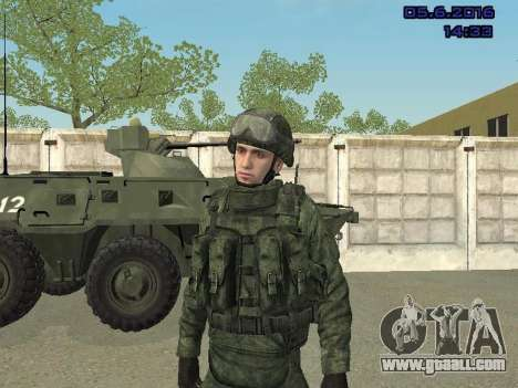 Modern Russian Soldiers pack for GTA San Andreas ninth screenshot