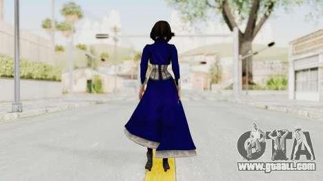 Bioshock Infinite Elizabeth Corset for GTA San Andreas third screenshot