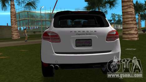 Porsche Cayenne 2012 for GTA Vice City right view