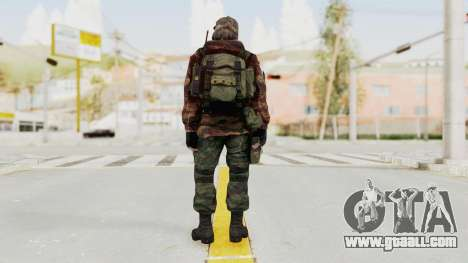 Battery Online Russian Soldier 2 for GTA San Andreas third screenshot