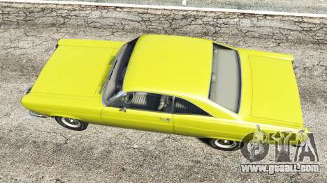 GTA 5 Ford Fairlane 500 1966 v1.1 back view