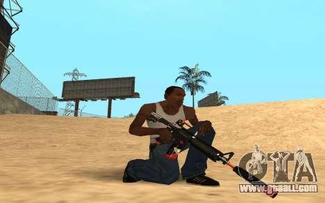 M4 Cyrex for GTA San Andreas second screenshot