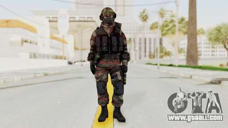 Battery Online Russian Soldier 6 for GTA San Andreas second screenshot