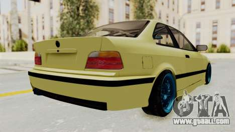 BMW M3 E36 Drift for GTA San Andreas left view