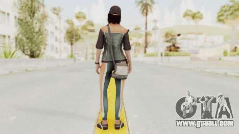Assassins Creed 4 - Rebecca Crane for GTA San Andreas third screenshot