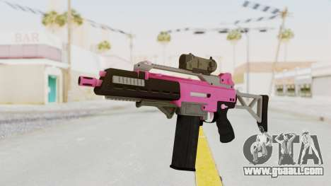 Special Carbine Pink Tint for GTA San Andreas
