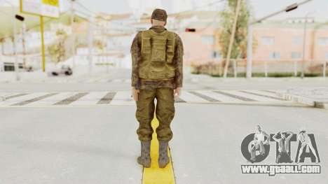 MGSV The Phantom Pain Soviet Union Vest v1 for GTA San Andreas third screenshot