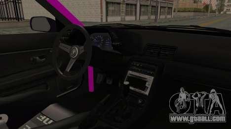 Nissan Skyline R32 Drift Monster Energy Falken for GTA San Andreas inner view