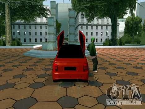 Lada Priora Lambo for GTA San Andreas right view