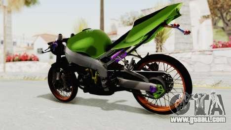 Kawasaki Ninja ZX-9R Drag for GTA San Andreas right view