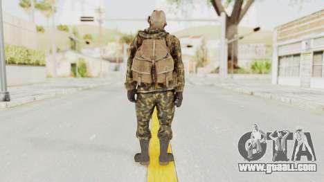 COD Black Ops Russian Spetznaz v6 for GTA San Andreas third screenshot
