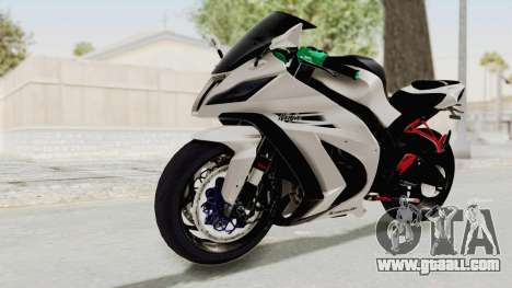 Kawasaki Ninja ZX-10R Modification for GTA San Andreas right view