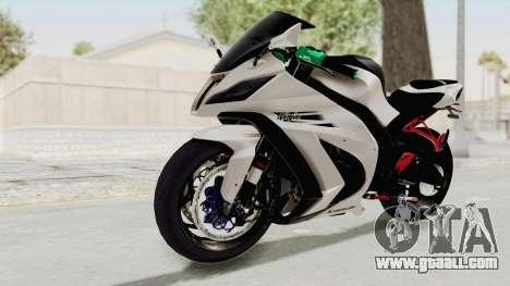 Kawasaki Ninja ZX-10R Modification for GTA San Andreas right view