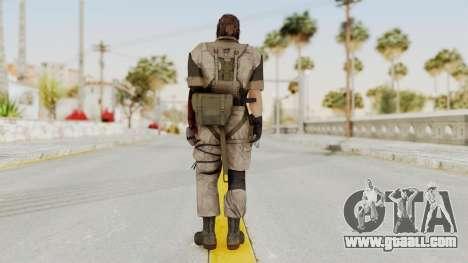 MGSV The Phantom Pain Venom Snake Desert for GTA San Andreas third screenshot