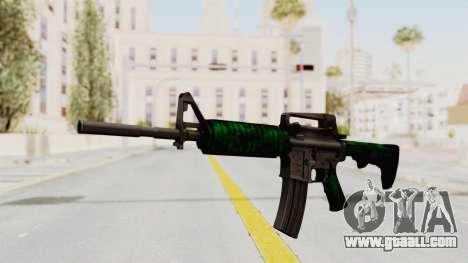 HD M4 v4 for GTA San Andreas second screenshot