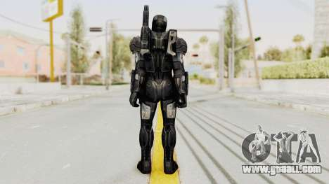 Marvel Future Fight - War Machine (Civil War) for GTA San Andreas third screenshot