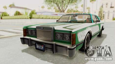 GTA 5 Dundreary Virgo Classic Custom v1 for GTA San Andreas wheels