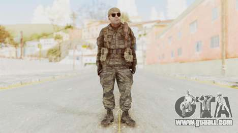 COD BO SOG Hudson v2 for GTA San Andreas second screenshot