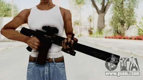 Colt M4 CQB S.W.A.T. for GTA San Andreas third screenshot
