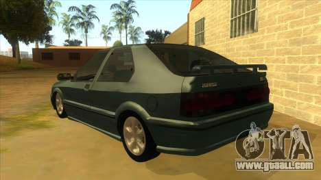 Renault 19 Coupe for GTA San Andreas back left view