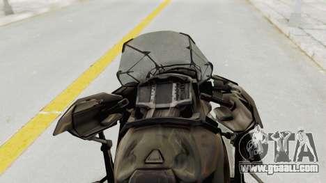 CoD Advanced Warfare - Hover Bike for GTA San Andreas back view