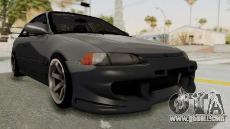 Honda Civic 1995 FnF for GTA San Andreas right view