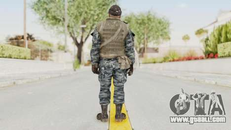 COD BO Russian Spetznas Flak MP v3 for GTA San Andreas third screenshot