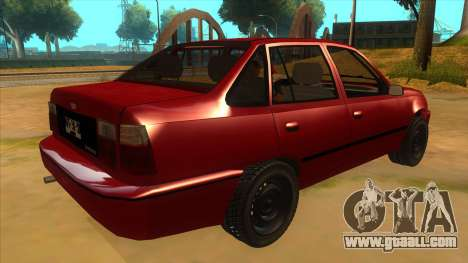 Daewoo Racer GTI for GTA San Andreas right view