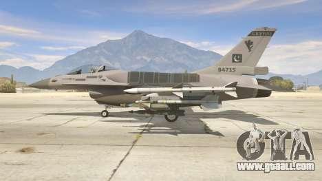 GTA 5 F-16C Block 52 second screenshot